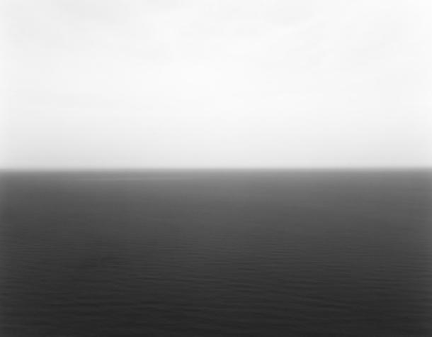 Hiroshi Sugimoto's  Arctic Ocean, Nordic Kapp , 1990 at Ben Brown Gallery.