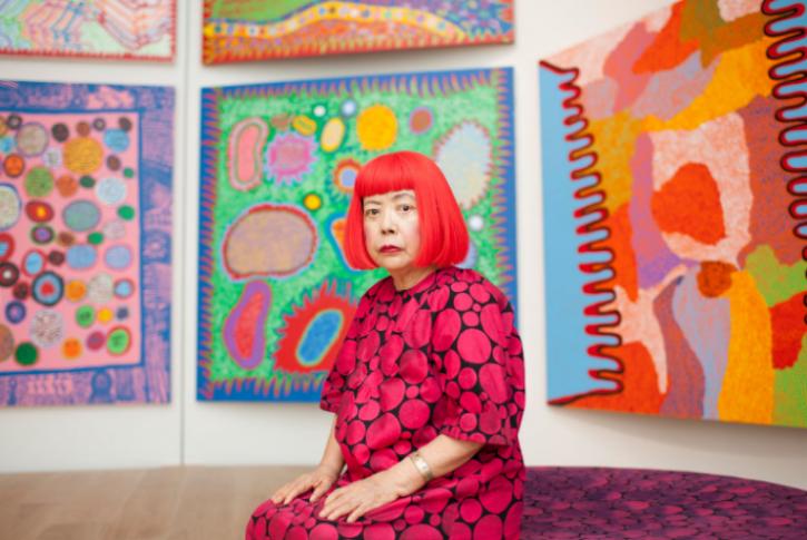Pictured: Kusama in 2014.Photography: Noriko Takasugi