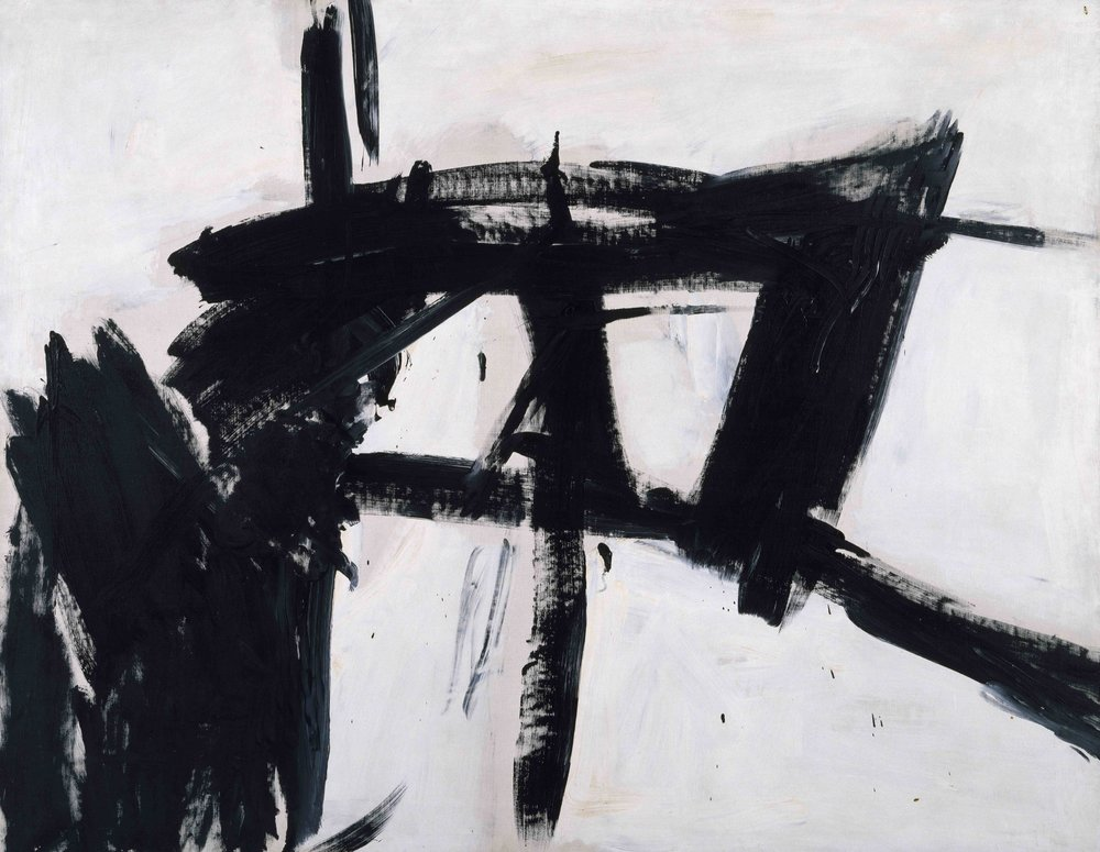 Key 12, Franz Kline,    Vawdavitch   , 1955, Oil on canvas, 158.1 x 204.9 cm,   Museum of Contemporary Art Chicago
