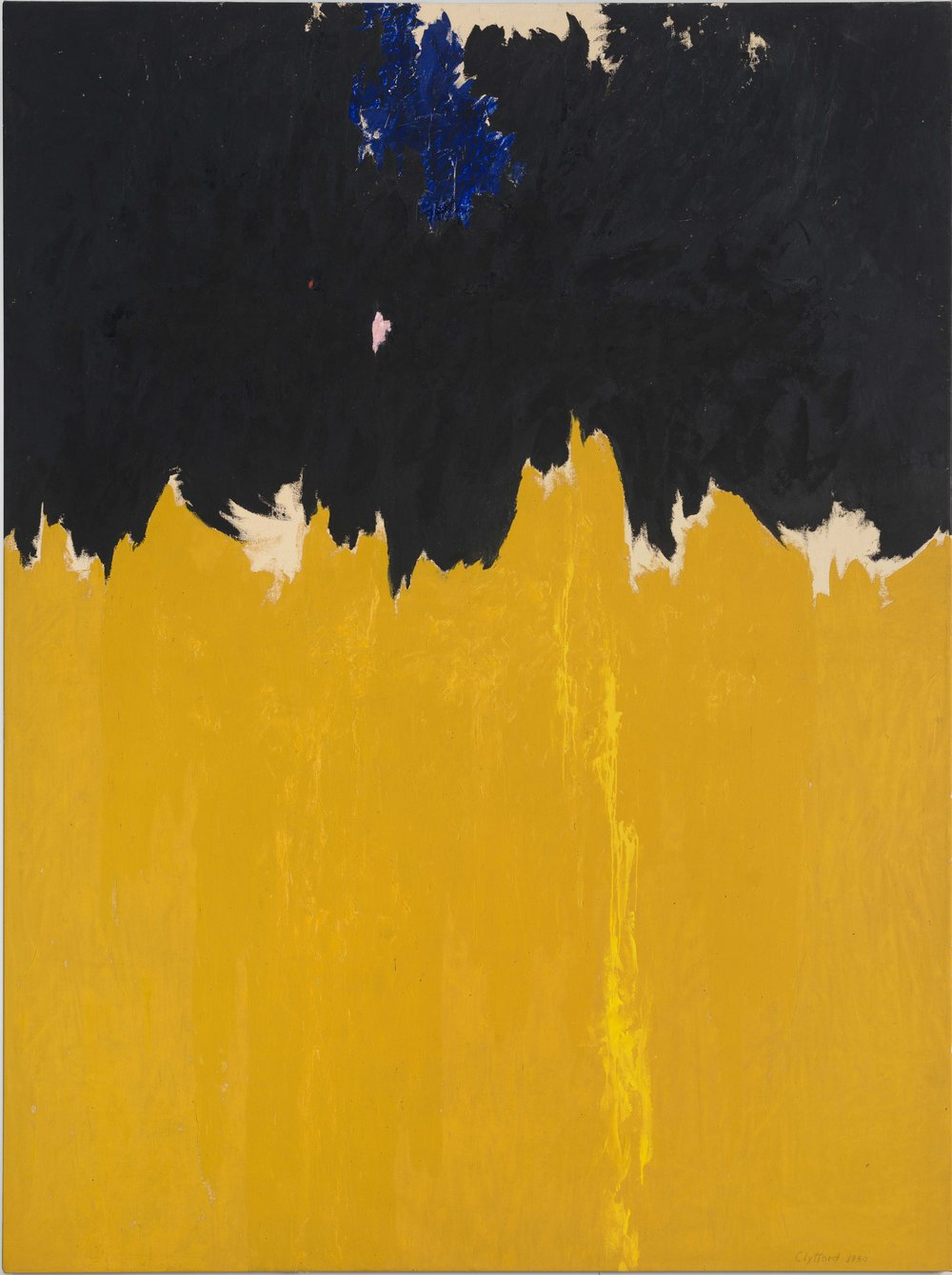 Key 119, Clyfford Still, PH-950, 1950. Oil on canvas, 233.7 x 177.8 cm. Clyfford Still Museum, Denver © City and County of Denver / DACS 2016.