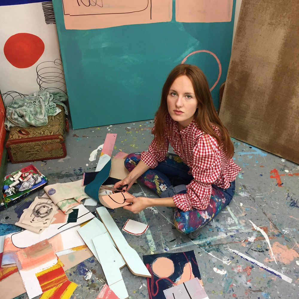 An Interview with British artist Milla Eastwood in her ...