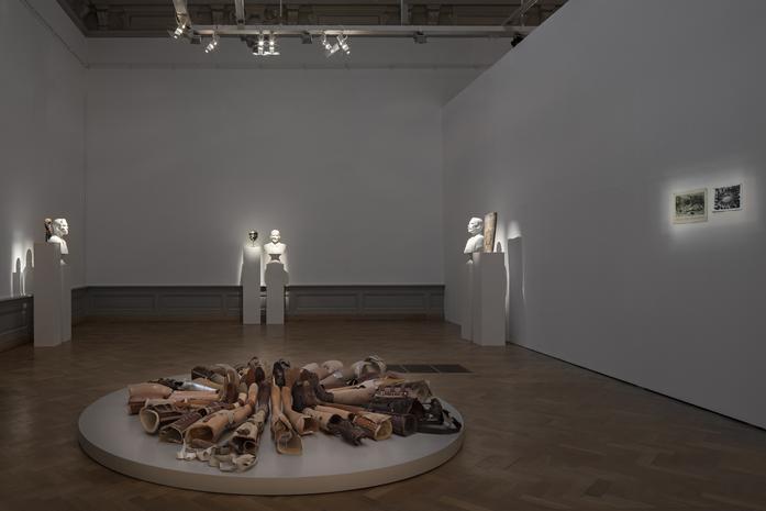 KADER ATTIA, Les blessures sont là, Installation view,Musée cantonale des Beaux-Arts de Lausanne, Switzerland