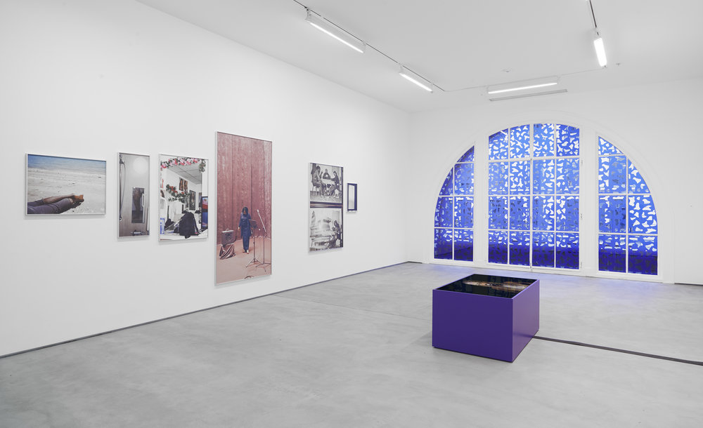 Installation view, Martine Syms,  The Easy Demands,  Condo: Sadie Coles HQ, London hosting Bridget Donahue, NYC 13 January – 18 February 2017 Copyright the artist, courtesy Sadie Coles HQ, London