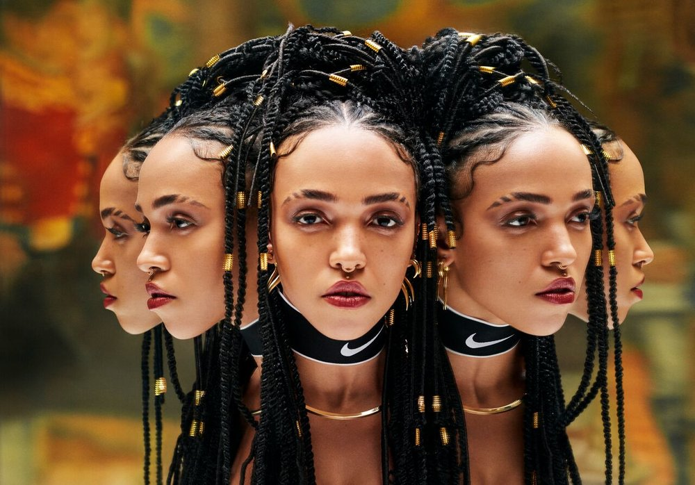 FKA twigs for NikeWomen by David Uzochukwu