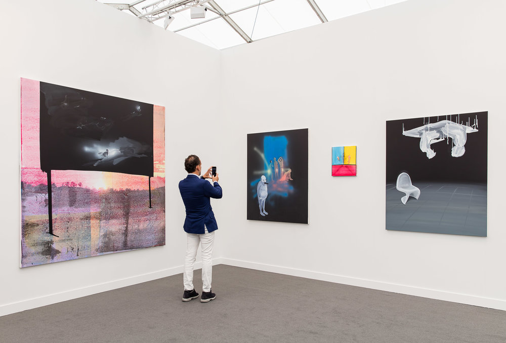 David Kordansky at Frieze New York by Mark Blower, courtesy of Mark Blower/Frieze