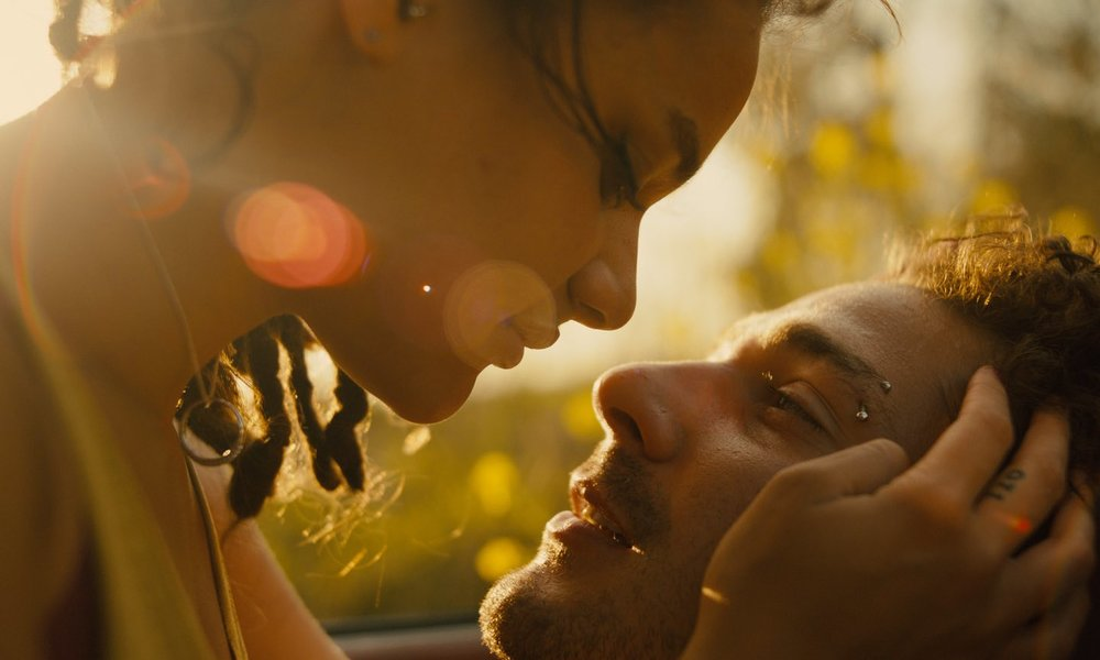 Sasha Lane and Shia Lebeouf in American Honey