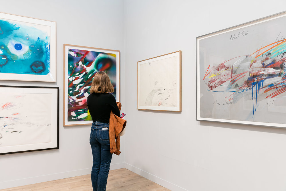 Gagosian gallery at Frieze London. Photo courtesy of Mark Blower/Frieze.