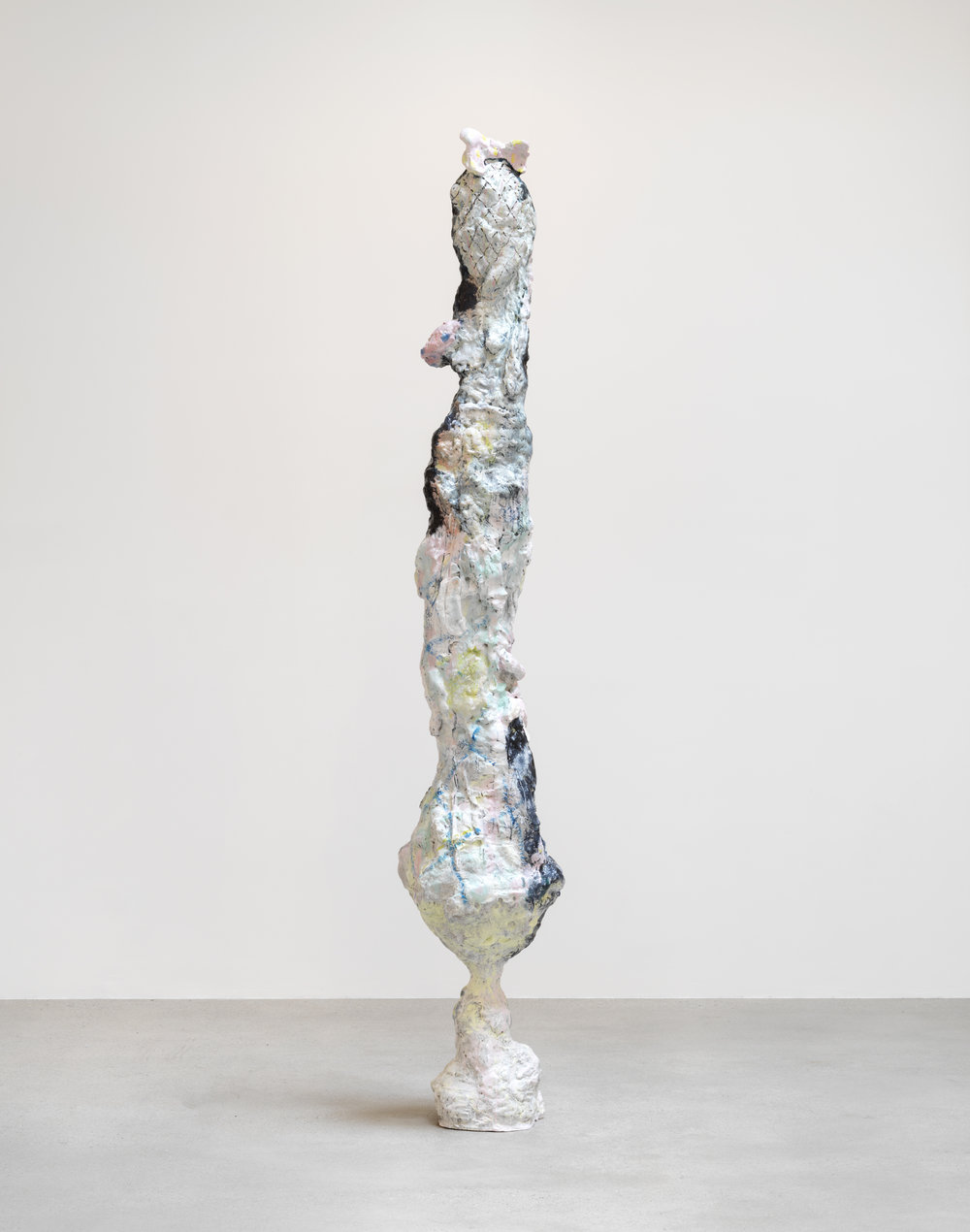 Aurelius  (2017),   hand painted bronze. © Rebecca Warren, Courtesy Maureen Paley, London, Matthew Marks Gallery, New York, Galerie Max Hetzler, Berlin. Photo: Tate.