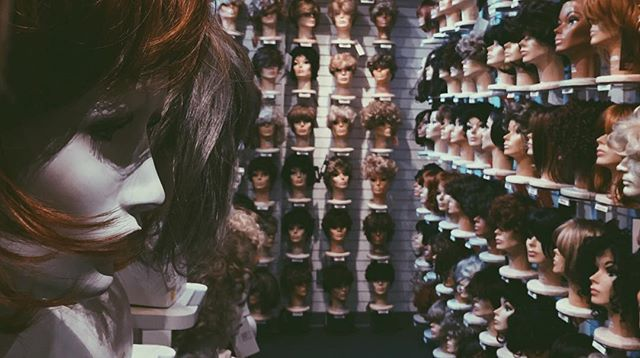 Standard Thursday wig shopping.