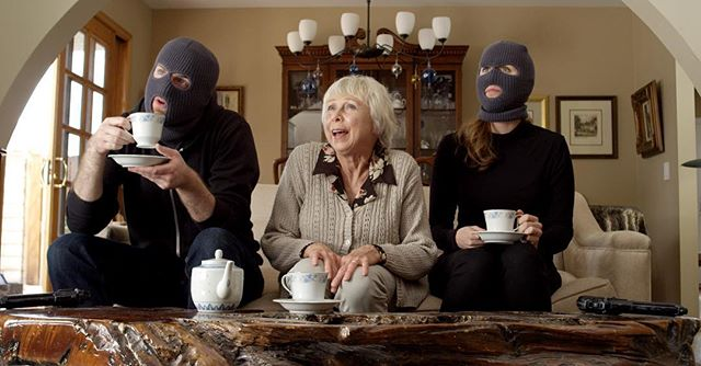A spot of tea amongst friends... Working on a new short.