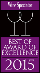 Wine Spectator Best of Award Excellence 2014