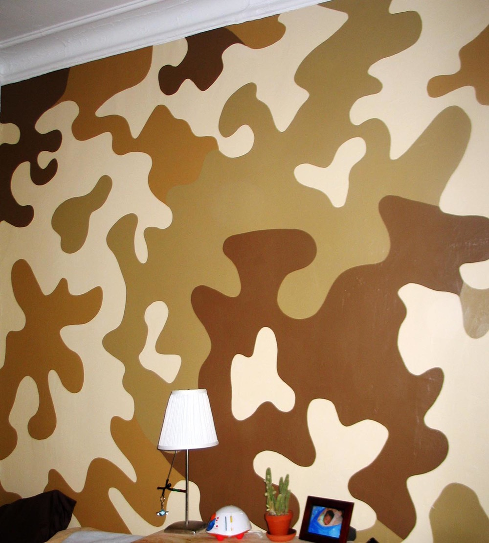 Residential evolving image designs teen camo wall amipublicfo Choice Image