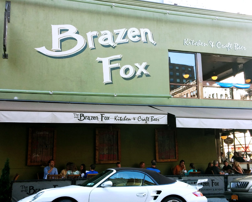Brazen Fox _ Exterior Sign