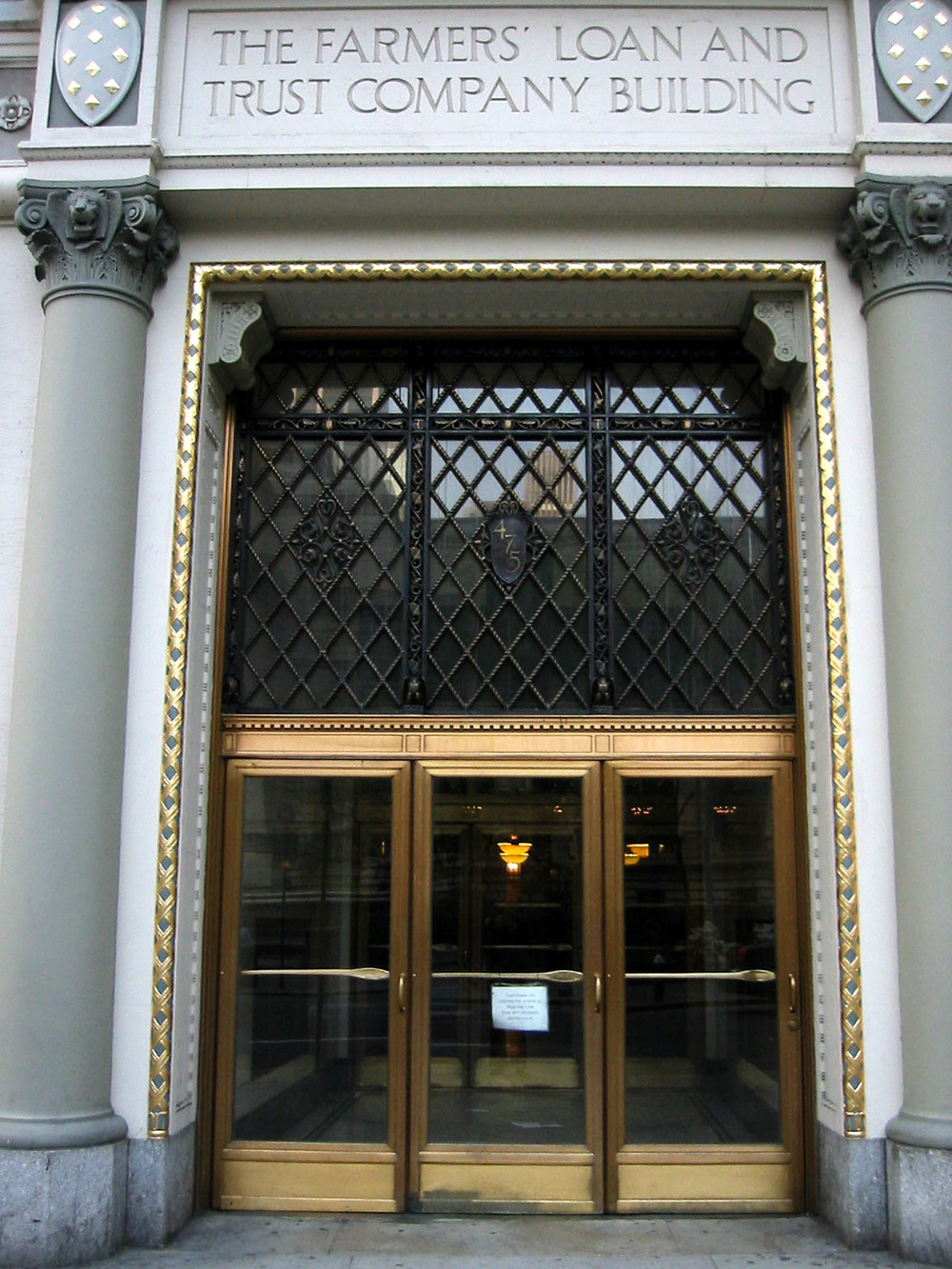 Exterior Gold Leaf