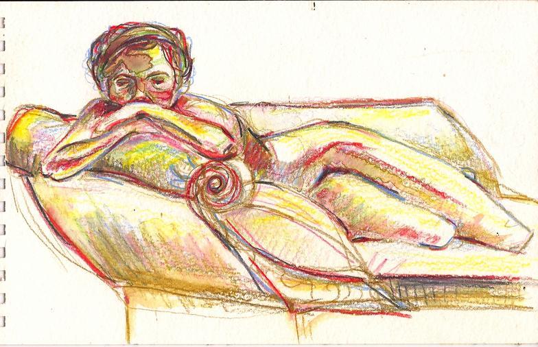 Brattleboro Nude II, 2009