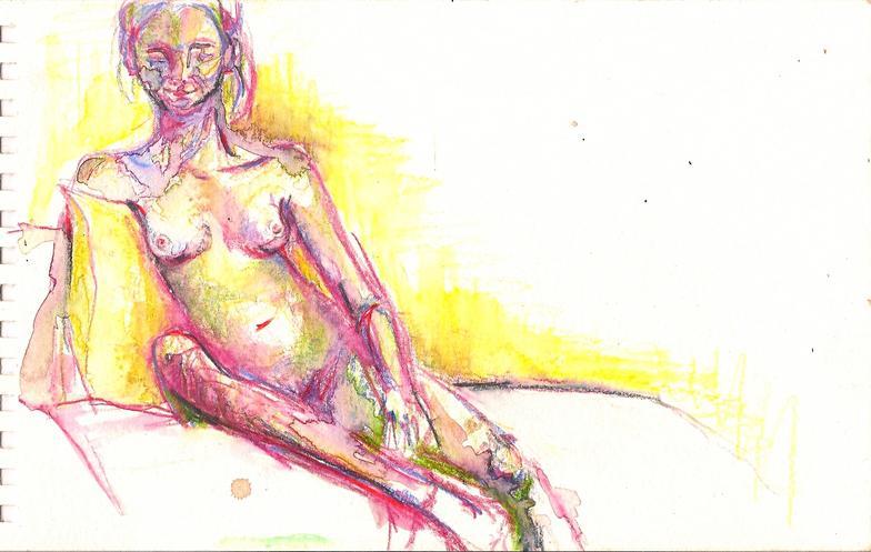 Brattleboro Nude I, 2009