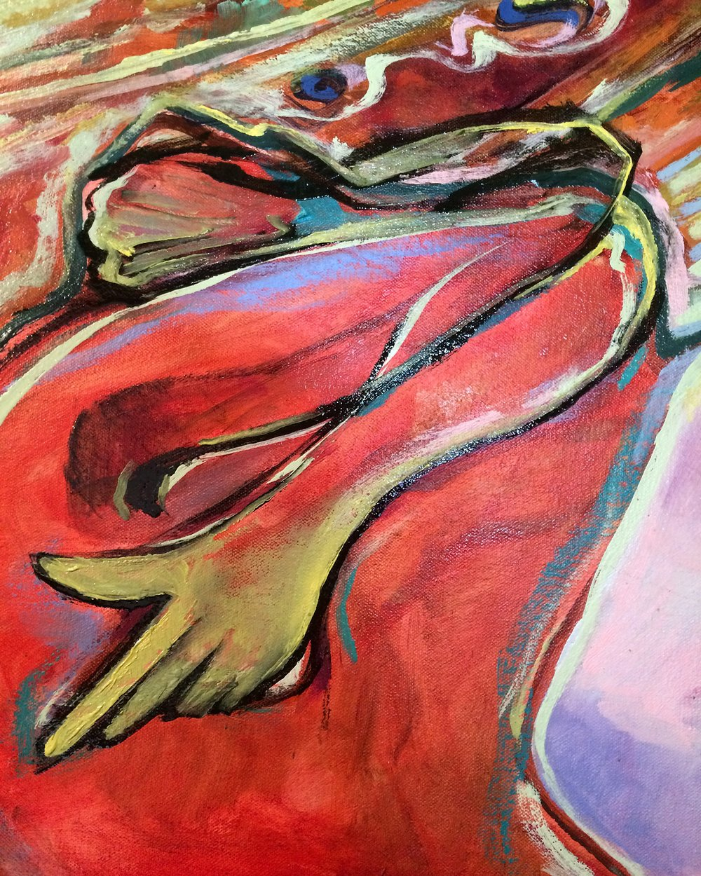 (detail) Double Confession I (bay) (2016)