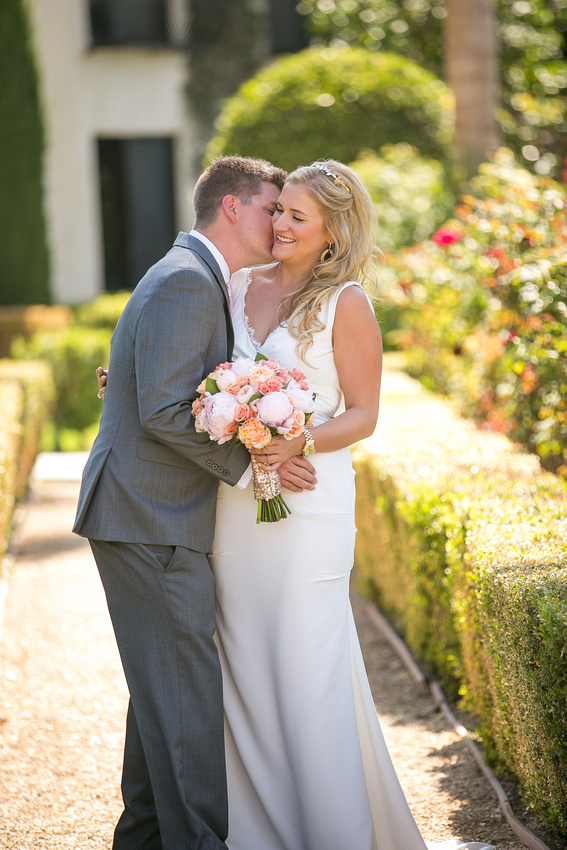 Mediterranean garden wedding Miramonte Resort and Spa