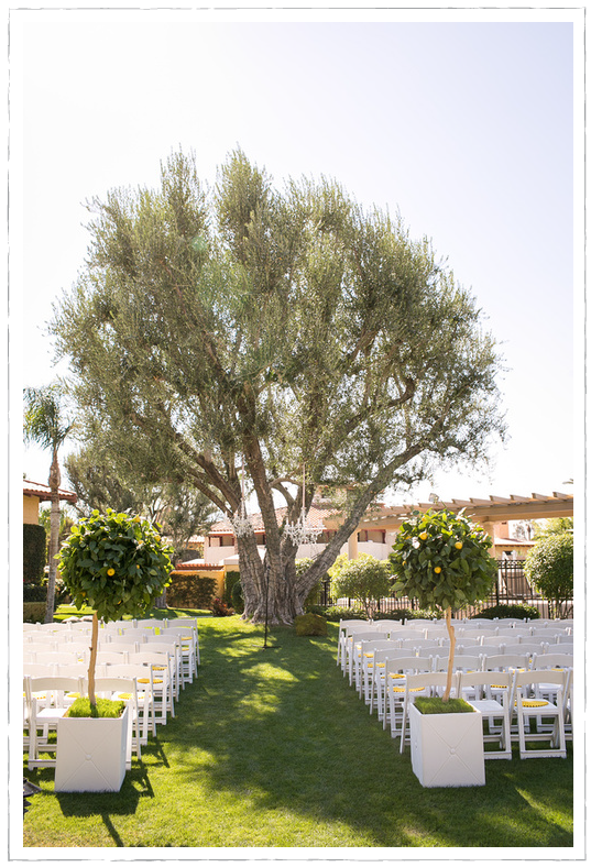 Mediterranean-inspired wedding at Miramonte Resort and Spa
