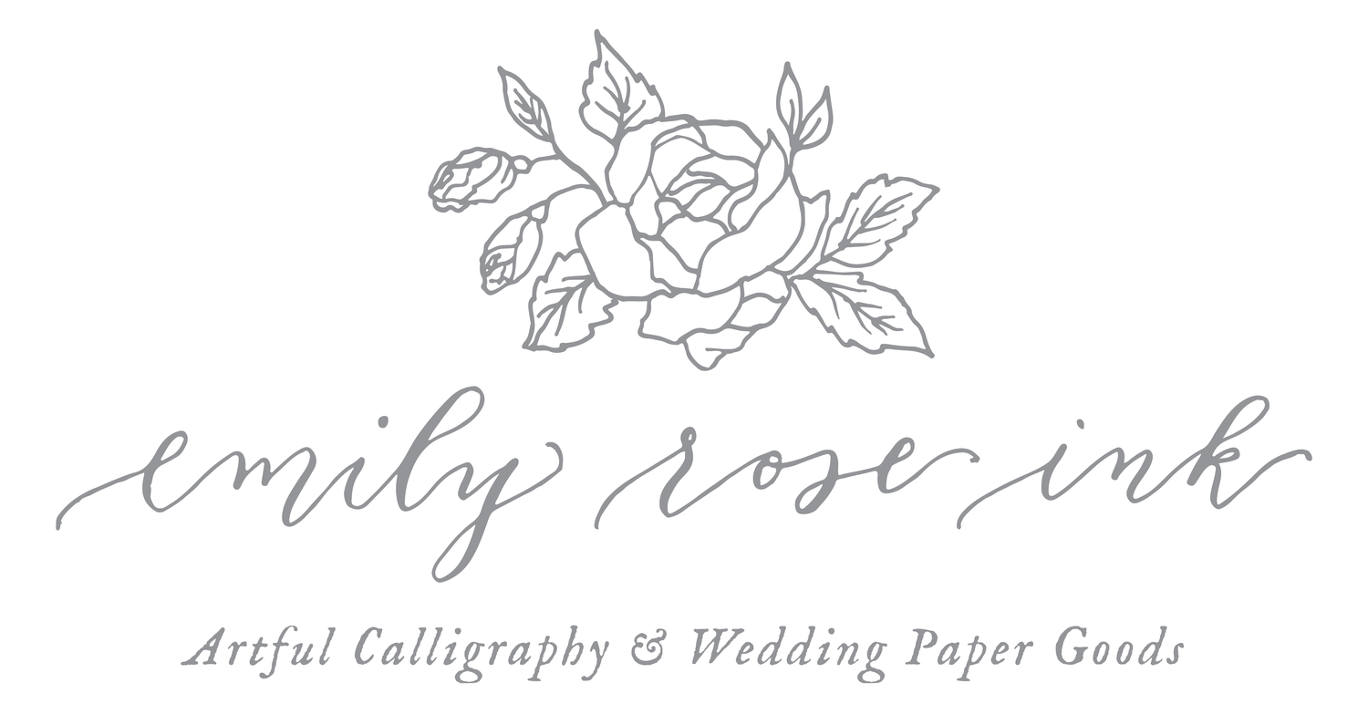 Invitation Etiquette For The Nontraditional Wedding Emily Rose Ink