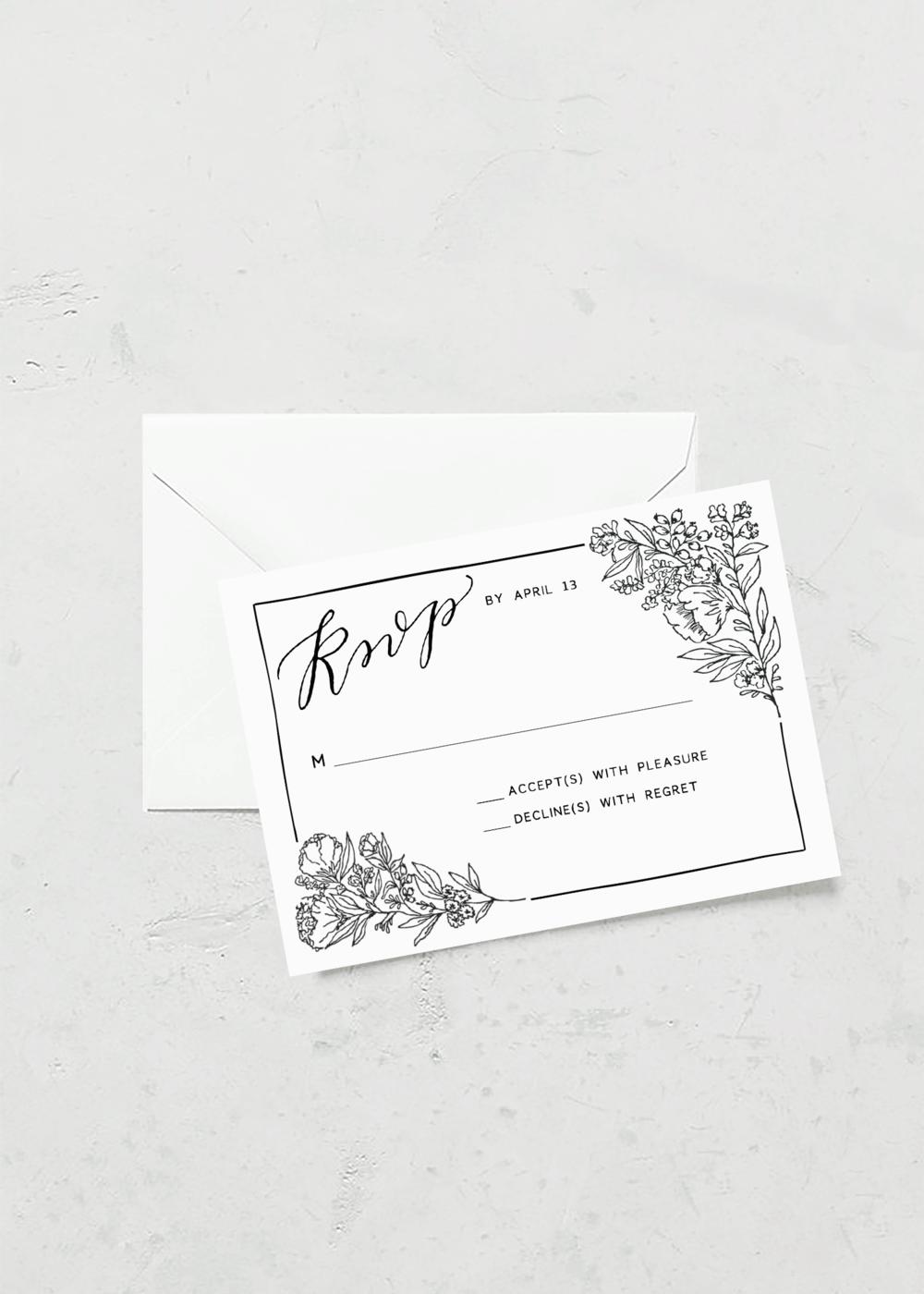 RSVP CARDS