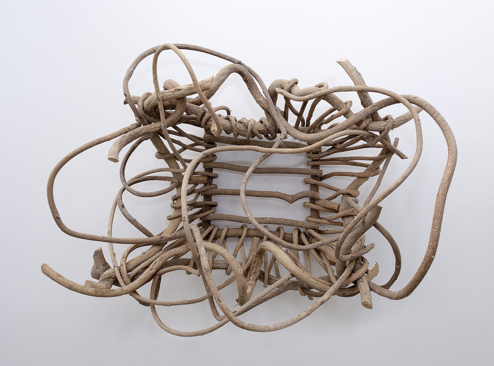 Kudzu basket (found) - Nell Gottlieb