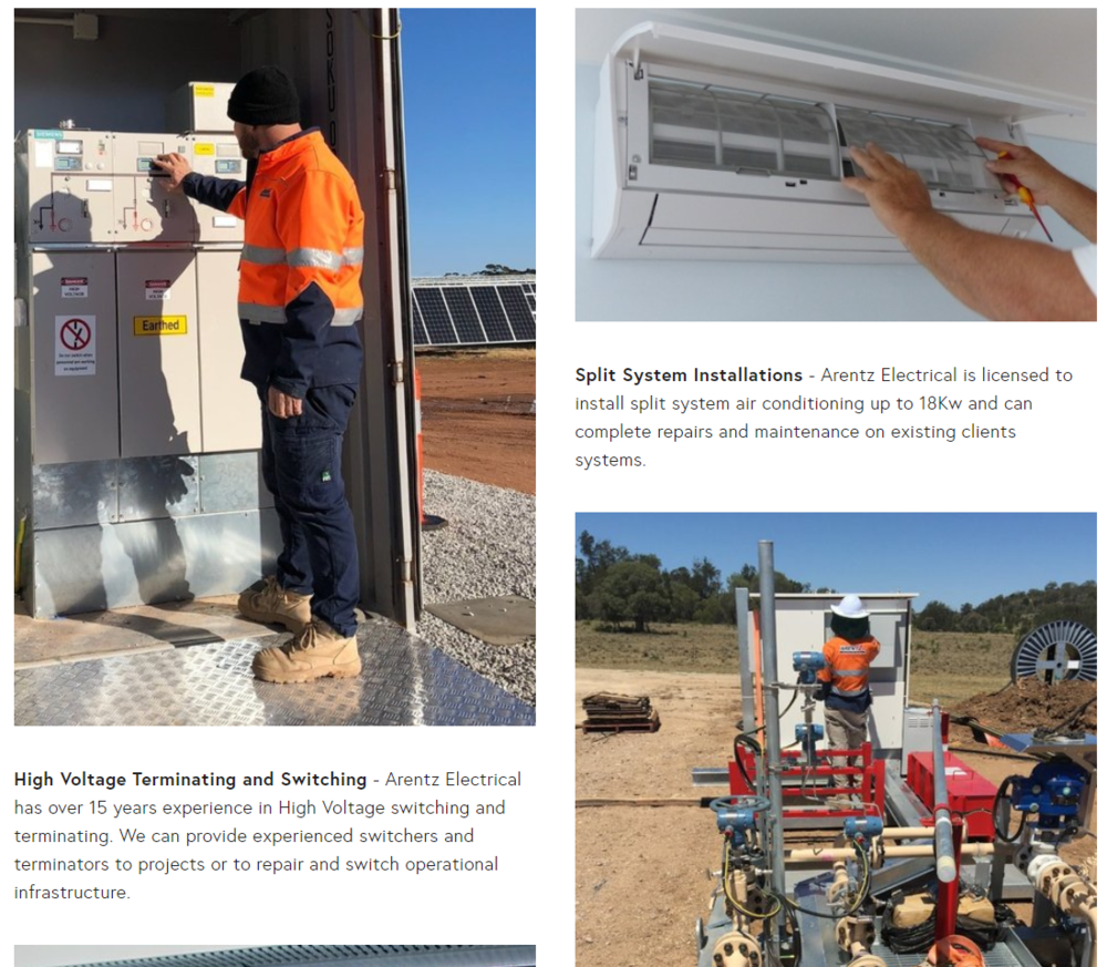 Arentz electrical swan hill.PNG