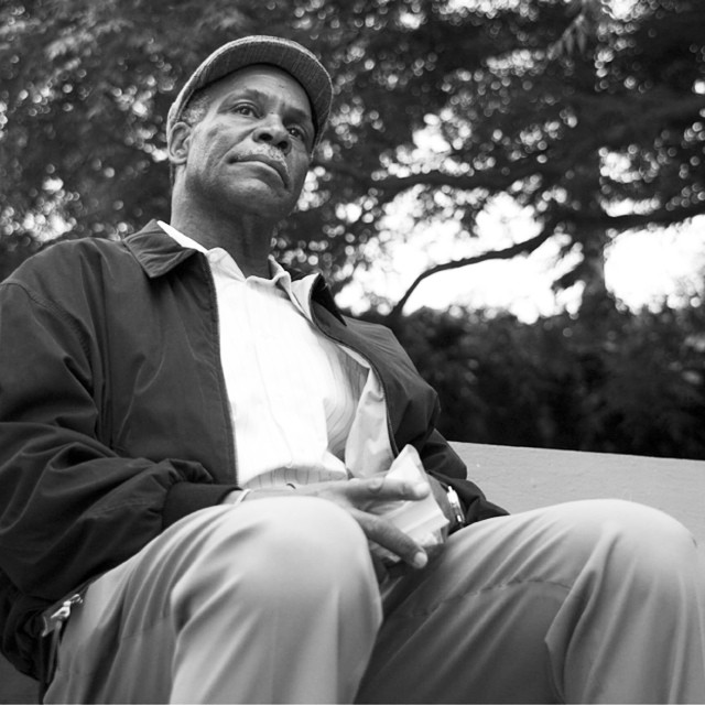 #TBT Danny Glover on the set of our short film 'This Life' #filmmaking