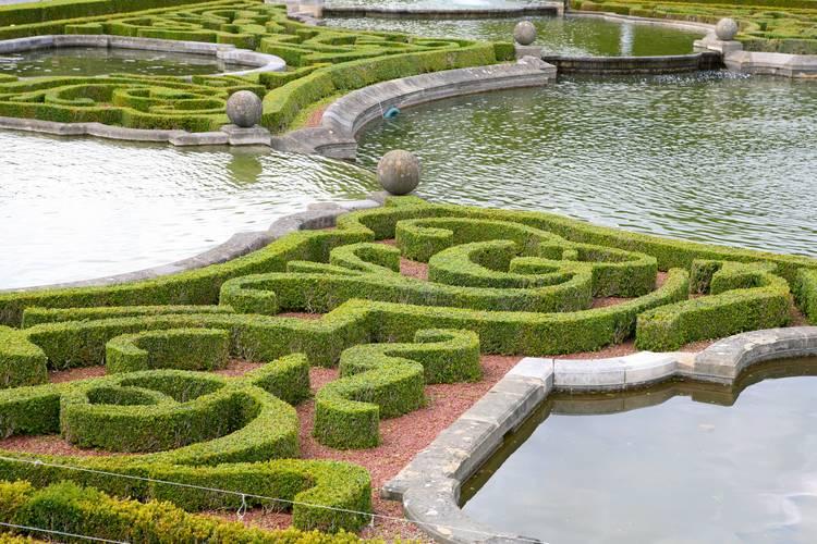 French formal garden — the good garden