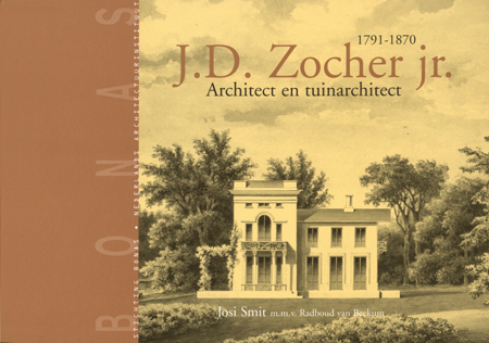 2008 Book about Zocher's work.  Source:  Tuinhistorisch Genootschap Cascade