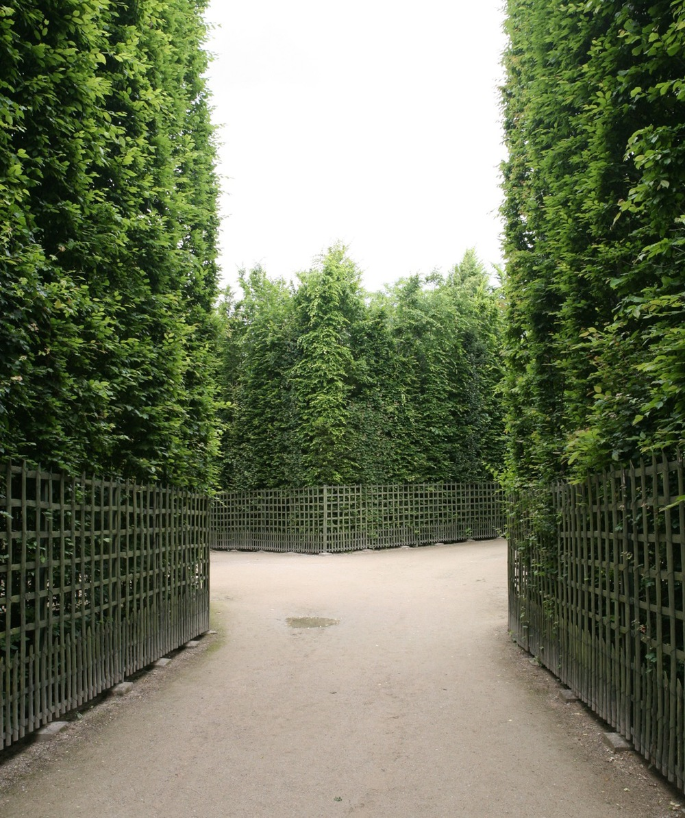 The bosquets at Versailles.   Read more about this unique garden feature.