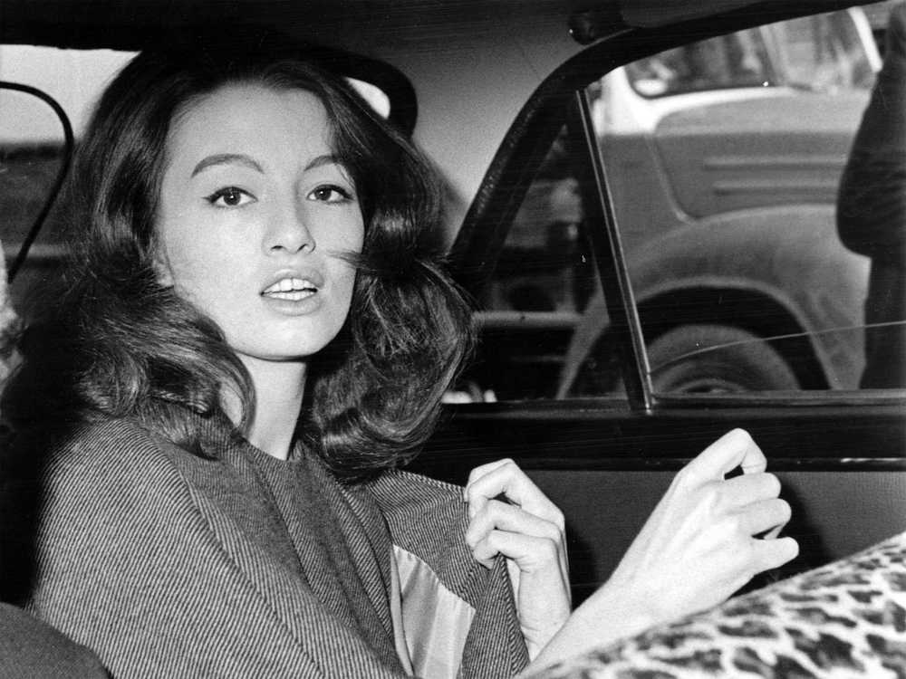 Christine Keeler 1960's. Photo: AP