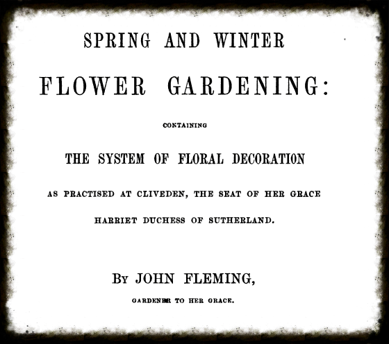 John Fleming's book published in 1864.