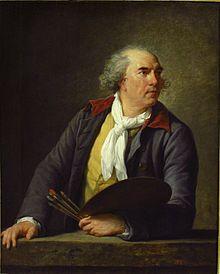Hubert Robert byÉlisabeth Vigée-Lebrun.Source:Louvre.