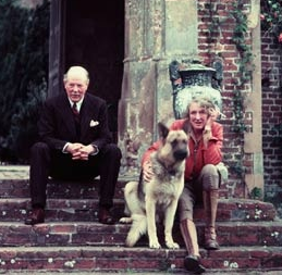 Vita Sackville-West and Harold Nicolson, in 1960 at their home, Sissinghurst, Kent. Photograph: Corbis /Corbis
