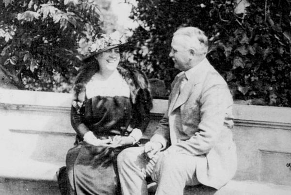 Jessie Kimberly-Paine and Nathan Paine.  Source: The Paine Art Center and Gardens.