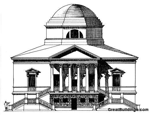 Chiswick House Elevation.  Source: GreatBuildings.com