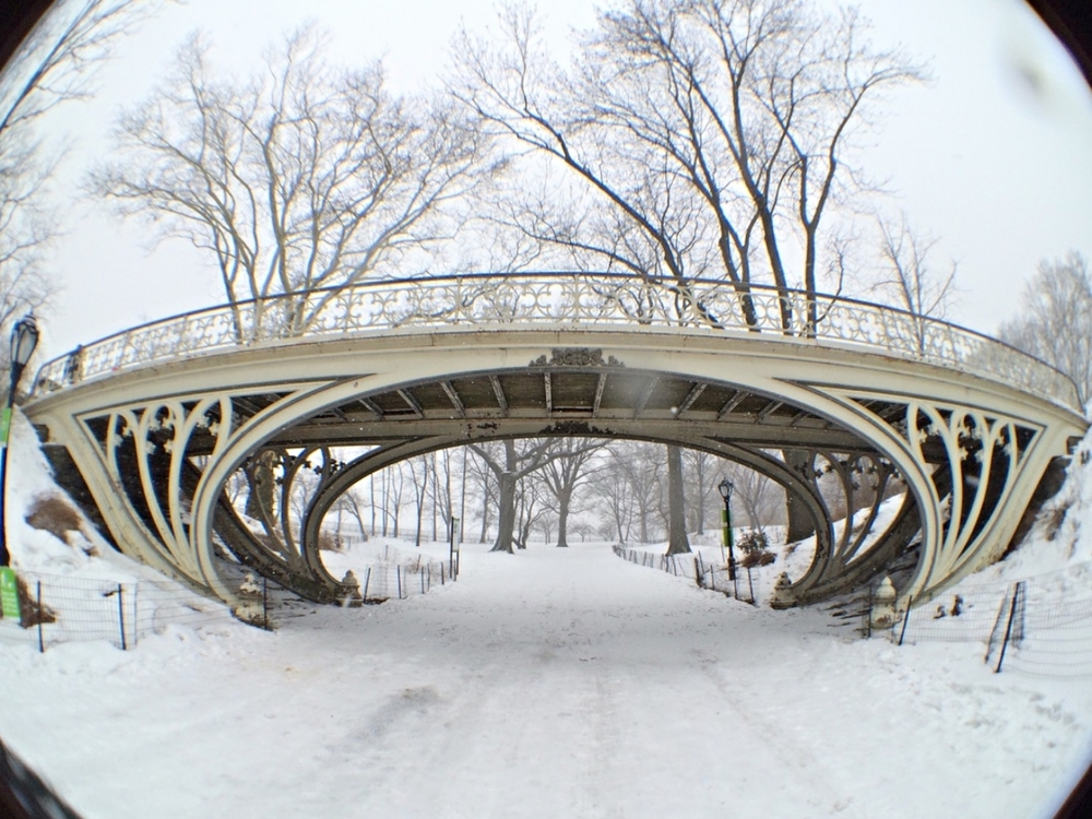 Gothic Bridge, 94th street.