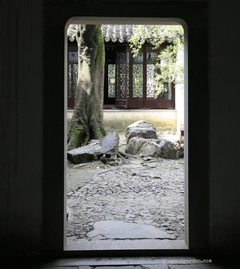 Surging Wave Pavilion Garden. Suzhou, China.