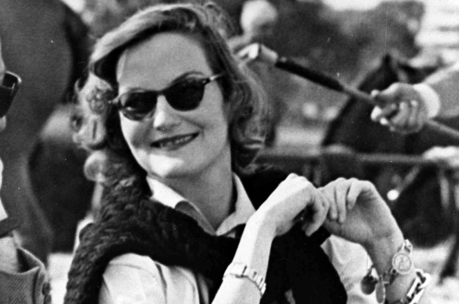 Doris Duke in 1950.  She inherited Duke Farms and incorporated ideas from ornamental gardens she visited while traveling.  Soure: Photo: AP