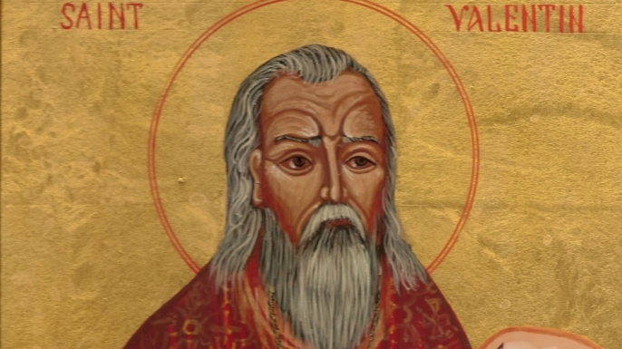Saint Valentine was executed for marrying Roman soldiers.  The Roman emperor at the time thought that bachelors made better warriors.