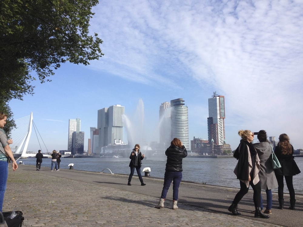 Thanks to the Waterfront Rotterdam plan, the river has been returned to the city.