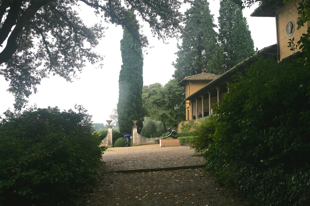 The gardens at Villa Bardini have been updated to reflect changing styles.