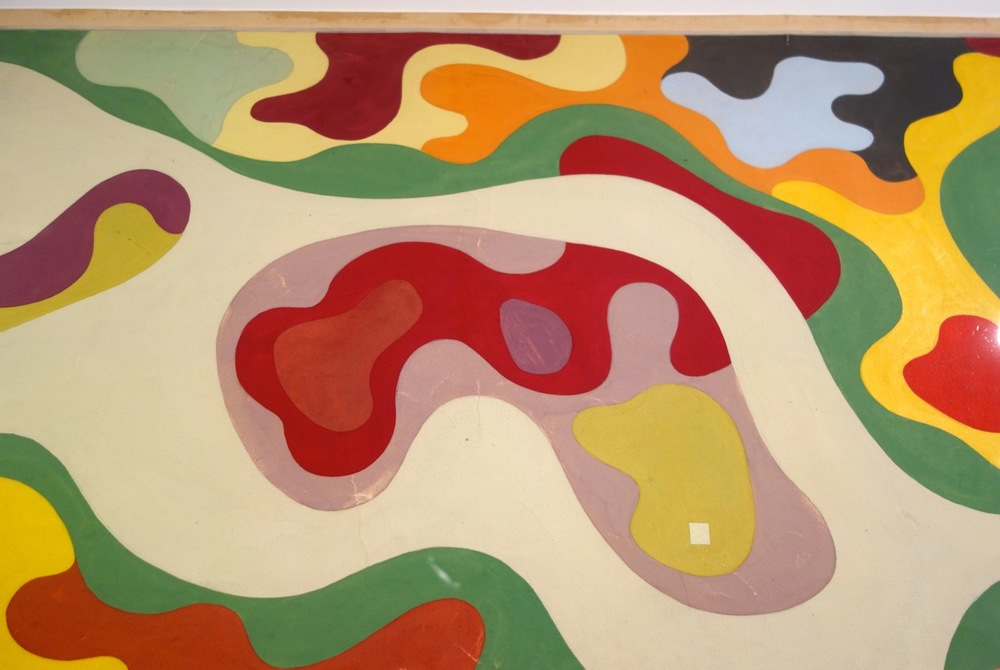 Close up from Roberto Burle Marx's design for the Minister's Rooftop Garden.  Ministry of Education and Health, Rio de Janeiro, 1938.