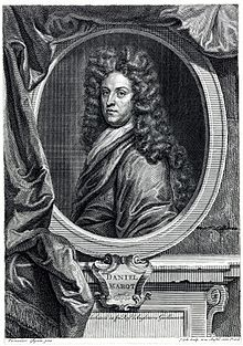 Daniel Marot designed the gardens at Het Loo in the 1680's.