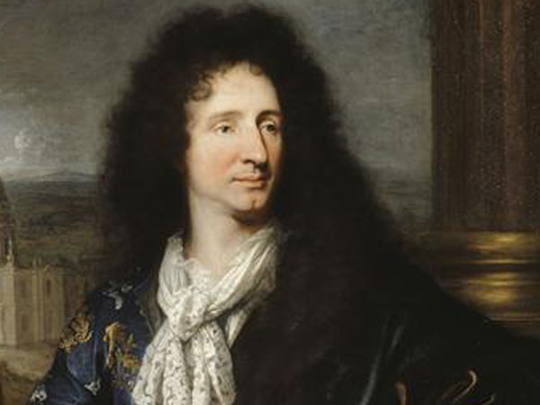 "Jules Hardouin Mansart designed the ""Green Rooms"" gardens in 1687.  Portrait of Jules Hardouin-Mansart, by Hyacinthe Rigaud, 1685 © RMN / Gérard Blot"
