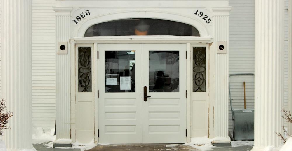 Keweenaw County Courthouse Doors - Eagle River MI & Larsen Design-Keweenaw County Courthouse Doors - Eagle River MI \u2014