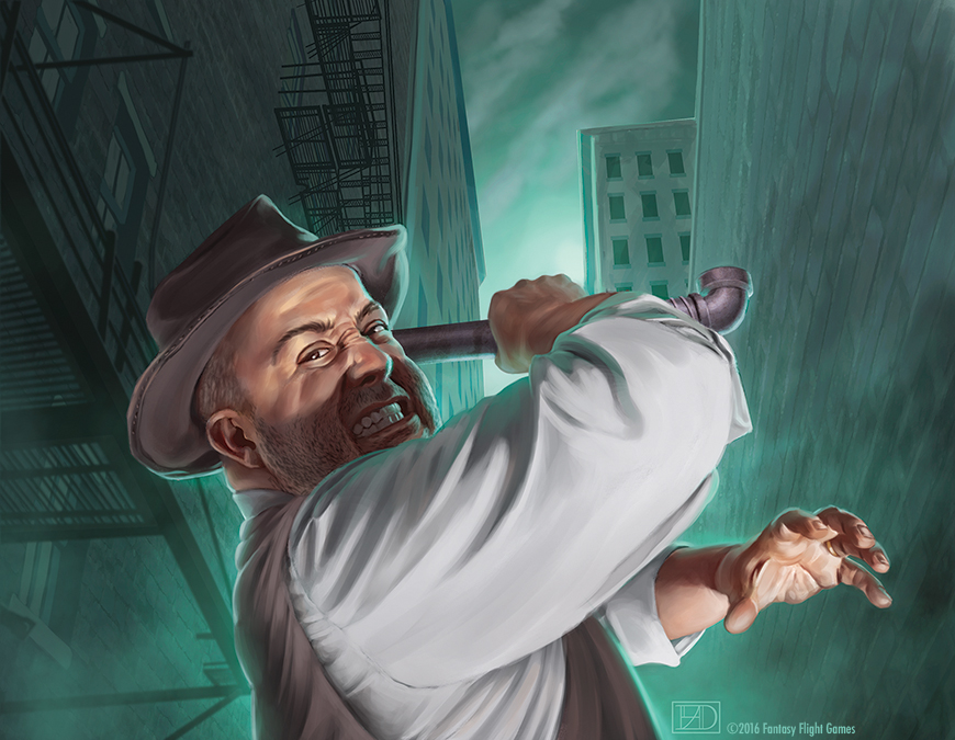 Arkham Horror: Mobster