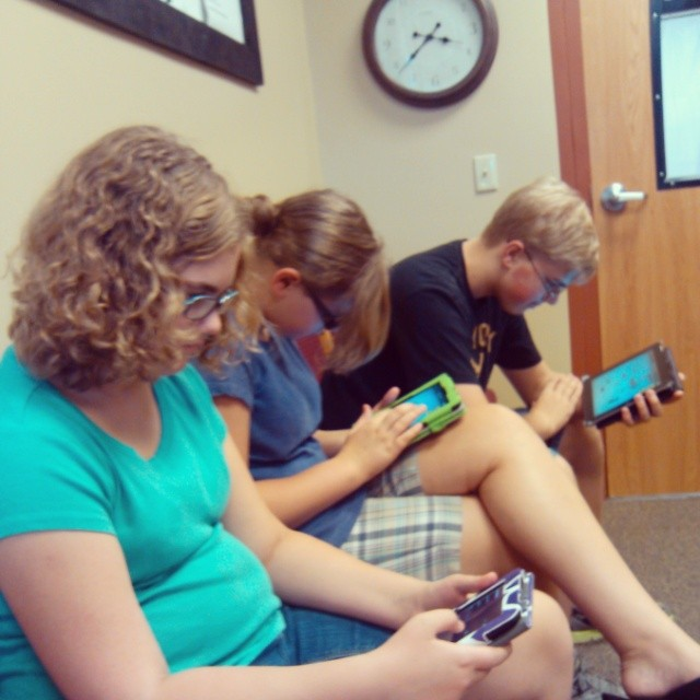 This is how teenagers patiently wait.  #backtoschool