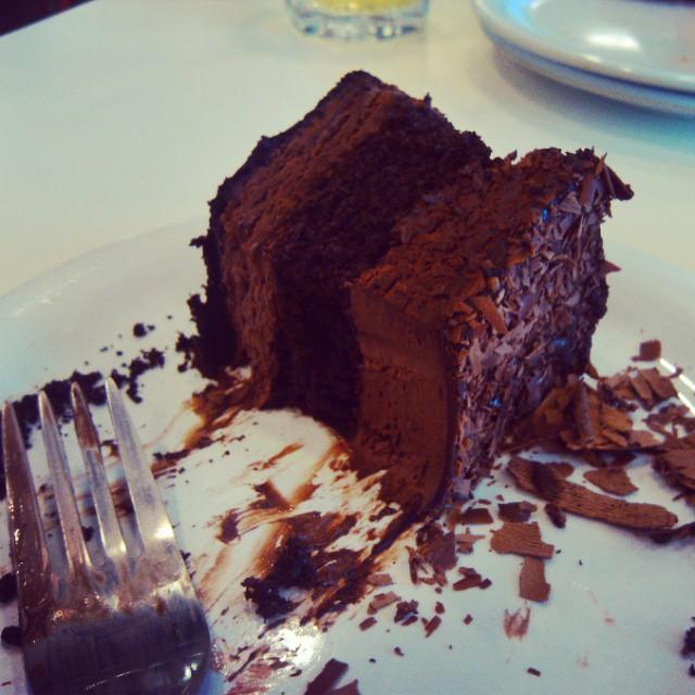 IKEA chocolate cake - how had we not met before?  #ikea #myscaleisnothappy